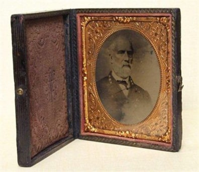 Image: Tintype of Gen. Robert E. Lee