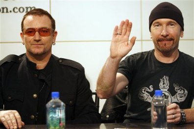 Image: Bono, The Edge