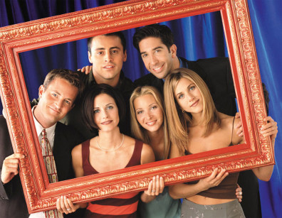 "Image: ""Friends"" cast"