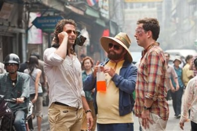 "A scene from ""The Hangover: Part II"""