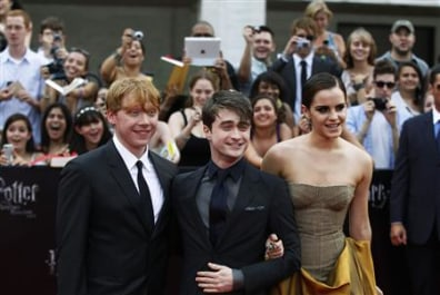IMAGE: Grint, Radcliffe and Watson