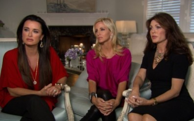 Image: Kyle Richards, Camille Grammer and Lisa Vanderpump