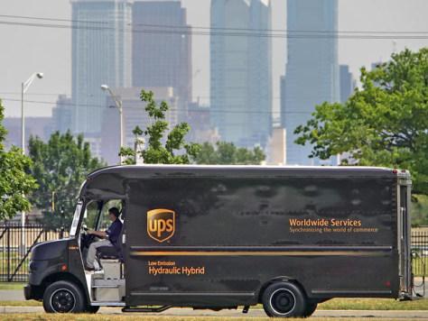 Image: UPS truck