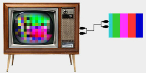 Image: Digital TV illustration