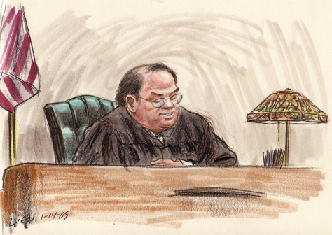 Image: Court hearing