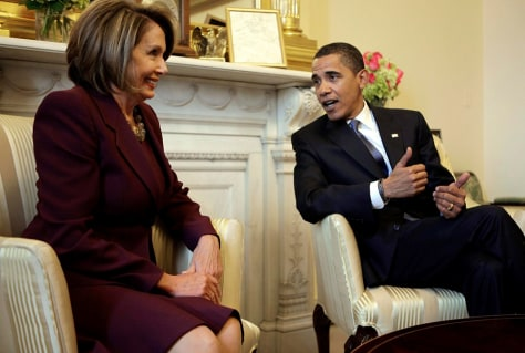 Image: Nancy Pelosi and Barack Obama