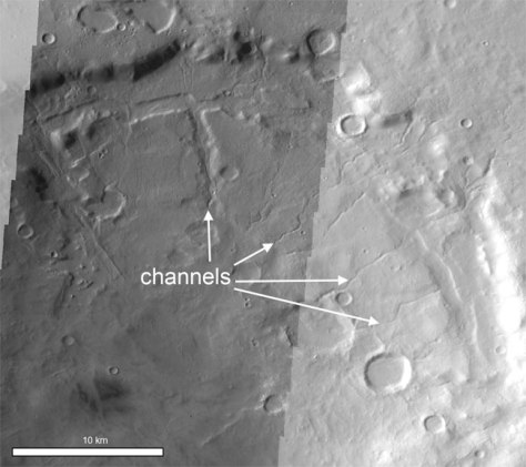 Image: Mars channel