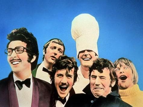 Image: Monty Python cast