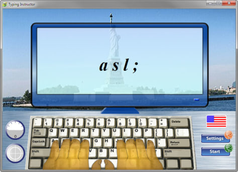 Image: Typing Instructor Platinum screenshot
