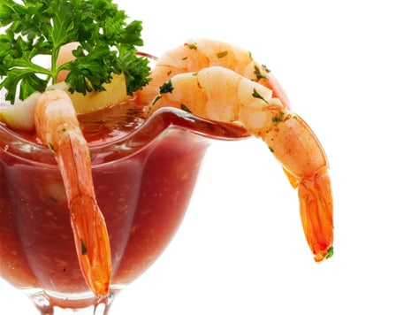Image: Stock image of shrimp cocktail