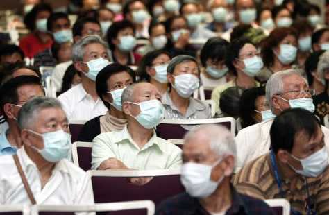 Image: Preventive Measures Taken Against A/H1N1 In Taipei