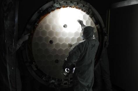 Image: Kepler's mirror