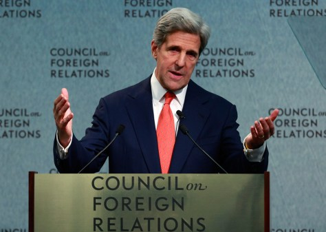 Image: Kerry Attends Discussion On Afghanistan At Council On Foreign Relations