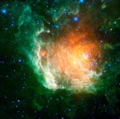Image: Cosmic rosebud