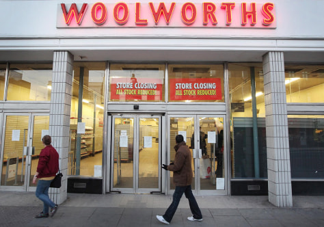 Image: Woolworth's store