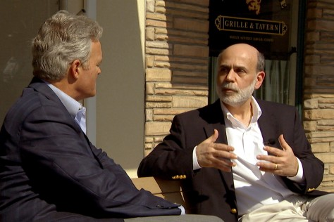 Image: Bernanke interview