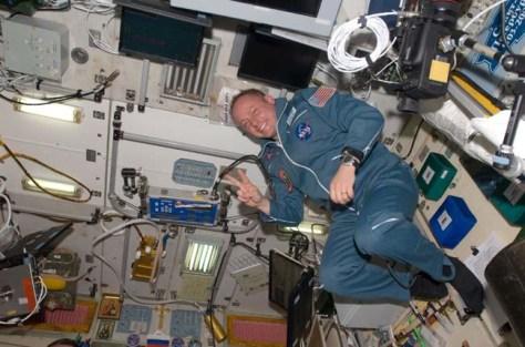 Image: NASA astronaut Michael Fincke