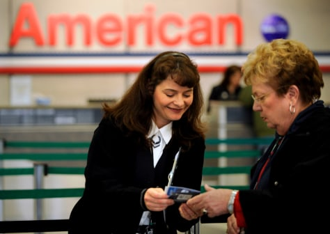 Image: American Airlines, customer service