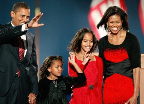 Image: Obama family