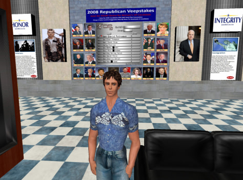 Image: Second Life avatar