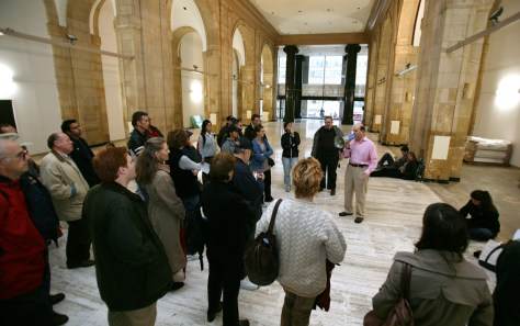 Image: Guided walking tour in New York