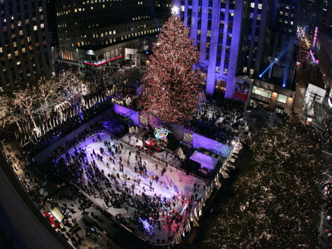Image: Rockefeller Center Christmas tree