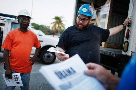 Image: AFL-CIO Urges Union Swing Voters To Support Obama