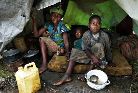 Image: Family in Kiwanja