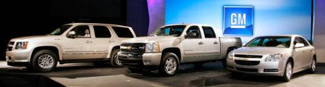 Image: GM at LA auto show