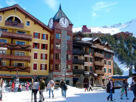 Image: Snowboarding in Les Arcs