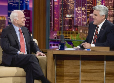 Image: McCain and Leno