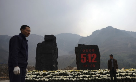 Image: Donghekou Earthquake Site Park