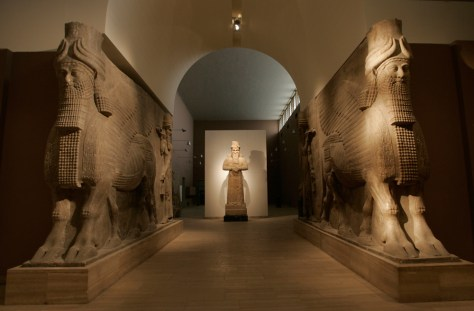 Image: Assyrian relics at Iraqi National Museum