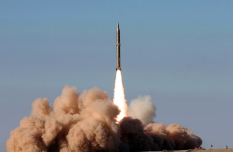 Image: Iranian missile test