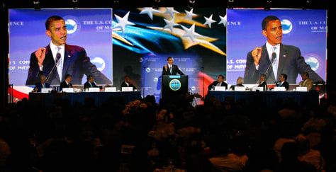Image: Barack Obama, The Unites States Conference of Mayors