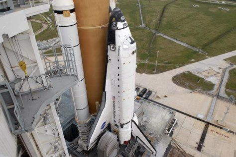 Image: The space shuttle Endeavour
