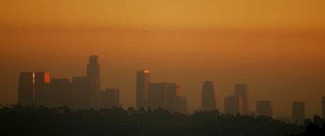Image: LA skyline.