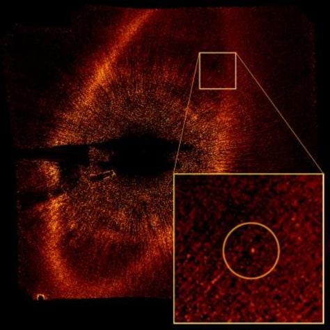 Image: Fomalhaut's planet