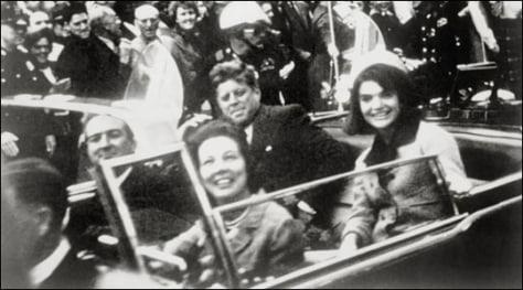 Image: JFK motorcade