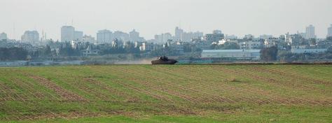 Image: Israeli tank.