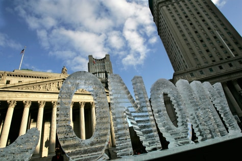 Image: Ice sculpture