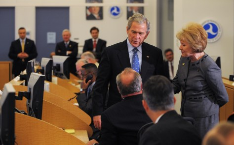 Image: Bush at DOT