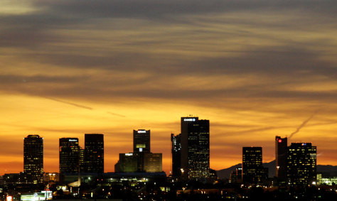 Image: Phoenix skyline