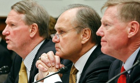 "Image: CEO's Of ""Big Three"" Automakers Testify At House Hearing"