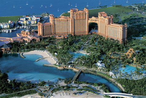 Image: Atlantis resort in the Bahamas