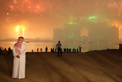Image: Dubai party