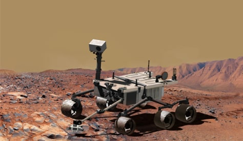 Image: Mars Science Laboratory