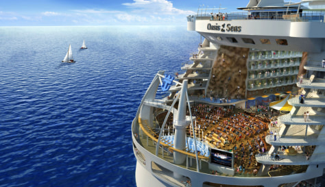 Image: Drawing of Oasis of the Seas