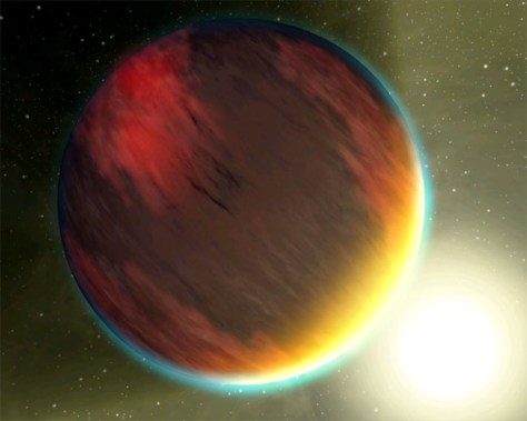 Image: Jupiter-like planet artist's impression