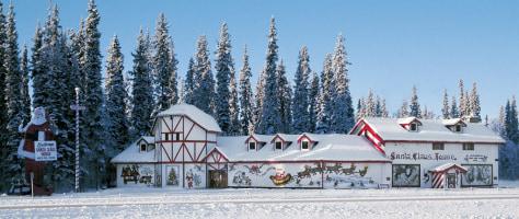 Image: Santa Claus house in North Pole, Alaska